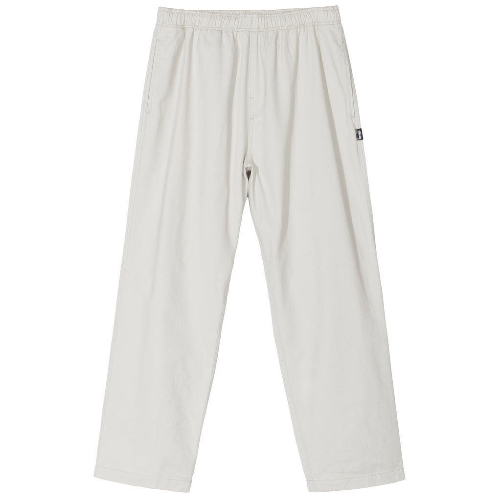 Stüssy - Brushed Beach Pant Bone, Pants, Stüssy, My Favorite Things