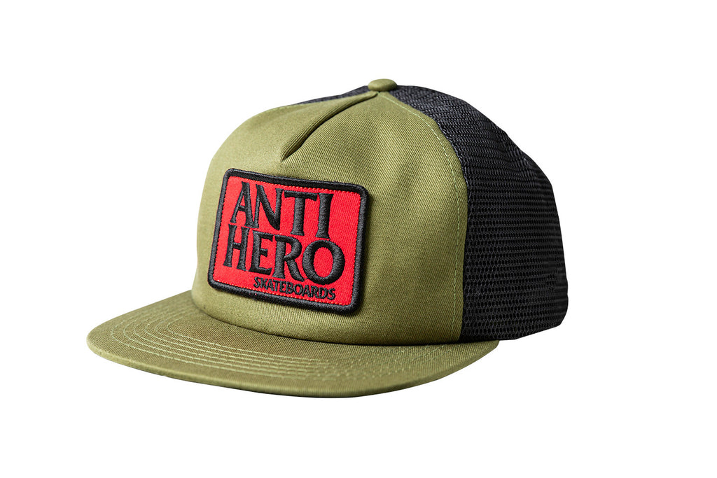 Antihero - Reserve Patch Snapback Olive/Black