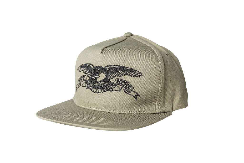 Antihero - Basic Eagle Snapback Khaki/Black