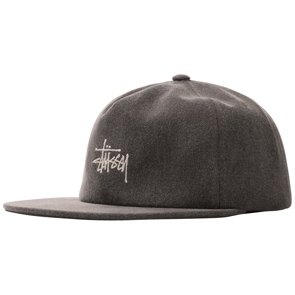 Stüssy - Stock Pigment Strapback Cap Black, Caps, Stüssy, My Favorite Things