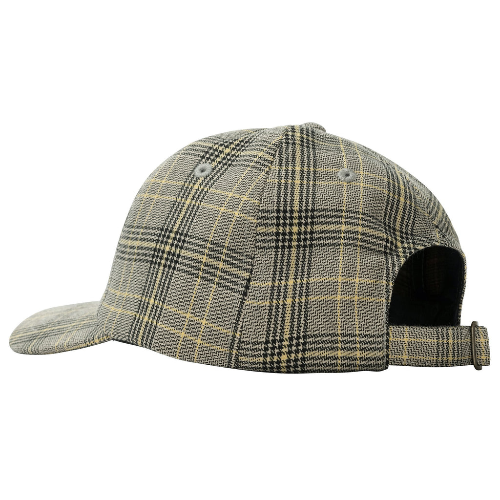 Stüssy - Big Logo Plaid Low Pro Cap Off White