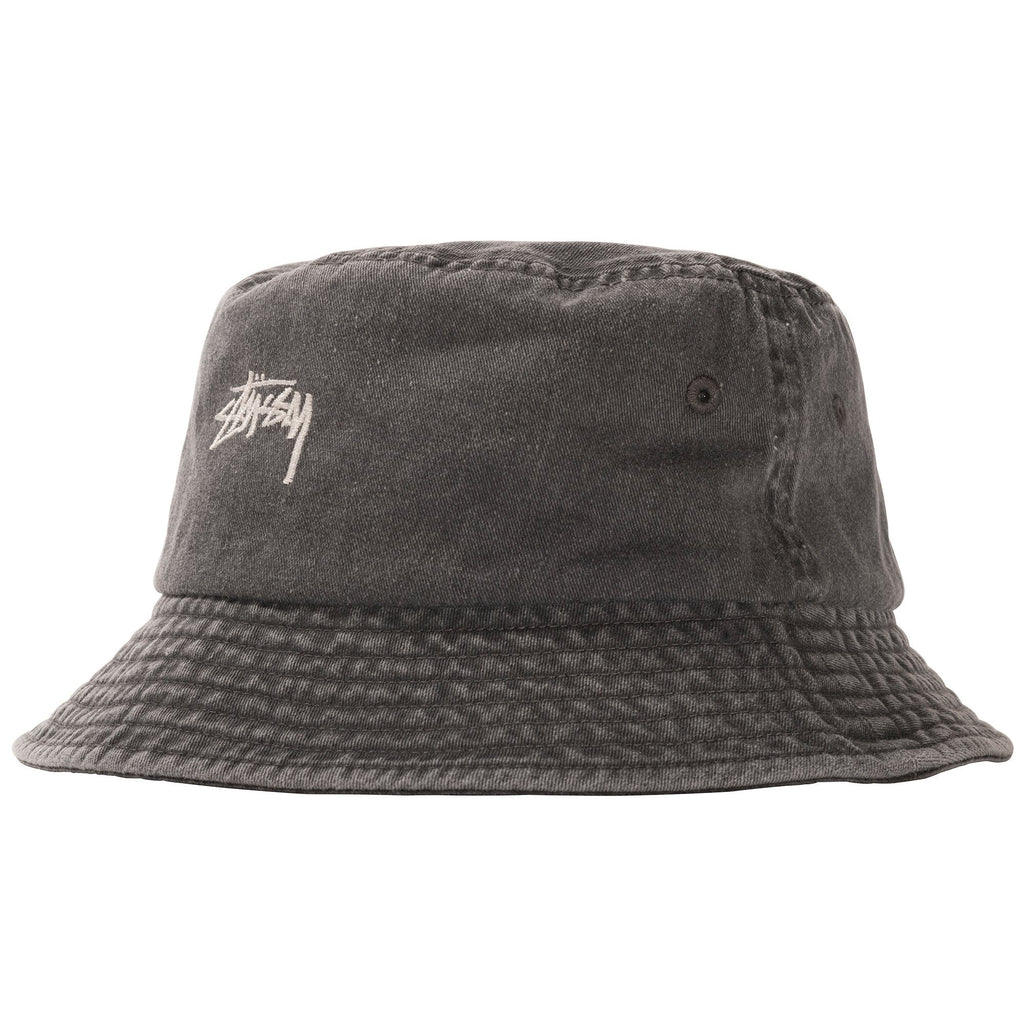 Stüssy - Stock Washed Bucket Hat Black, Caps, Stüssy, My Favorite Things