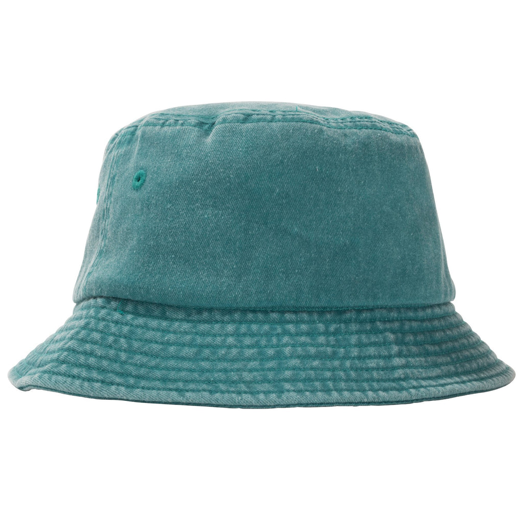 Stüssy - Stock Washed Bucket Hat Green, Caps, Stüssy, My Favorite Things