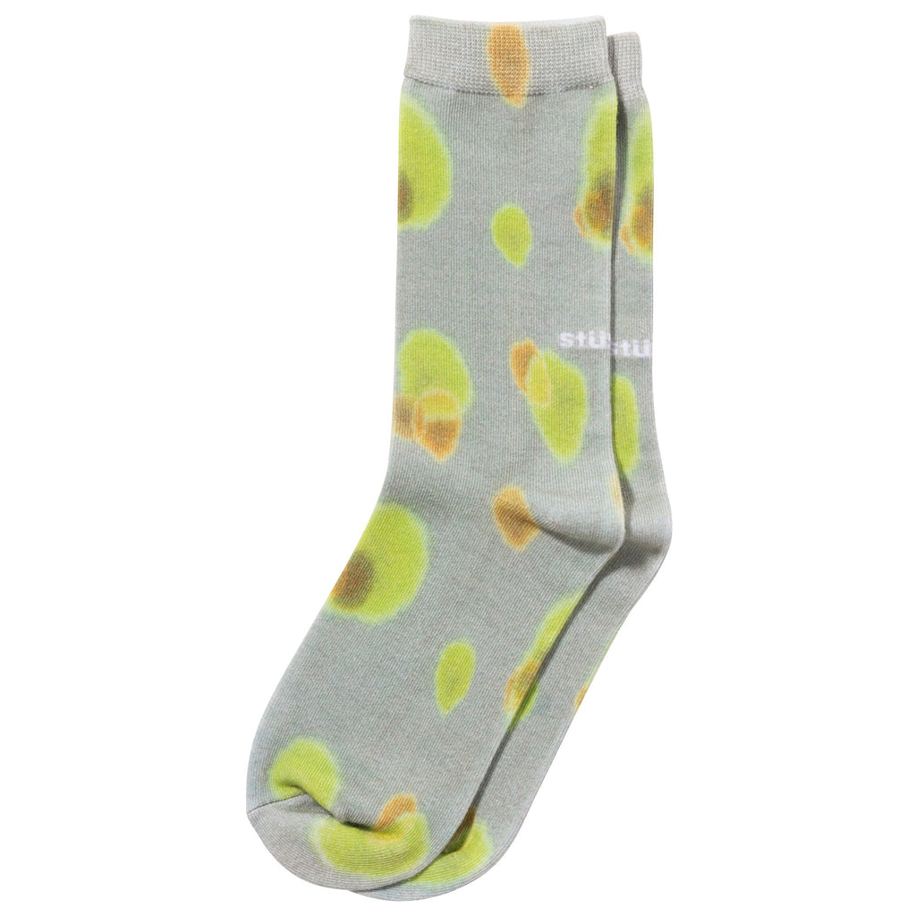 Stüssy - Blob Everyday Socks Khaki, Socks, Stüssy, My Favorite Things