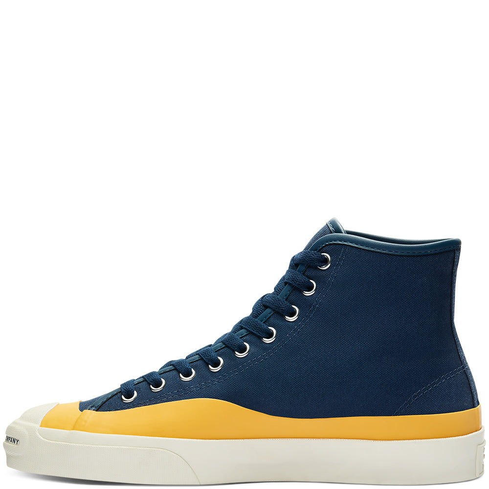 Converse CONS x POP Trading Company Jack Purcell Hi Navy/Citrus/Egret, Shoes, Converse, My Favorite Things