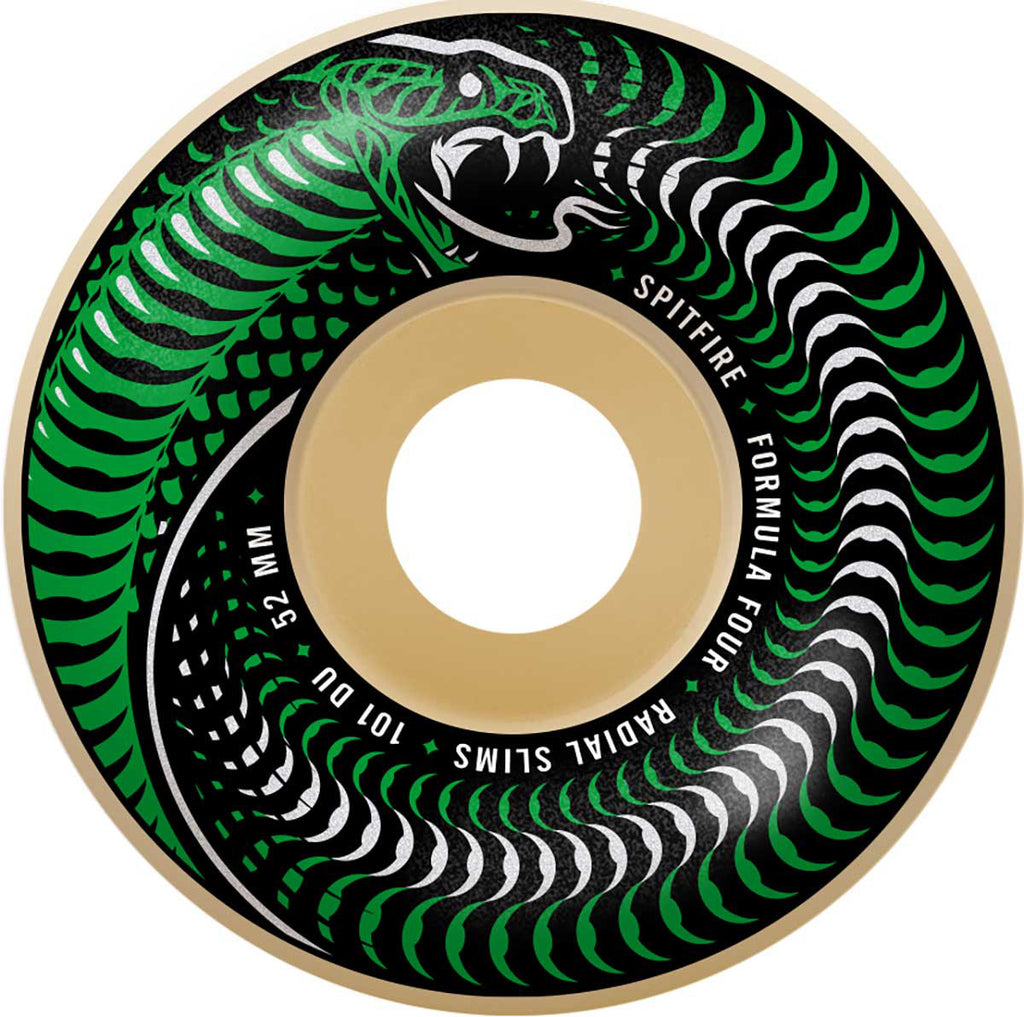 Spitfire Formula Four 101D Venomous Radial Slims 53mm, Wheels, Spitfire Wheels, My Favorite Things