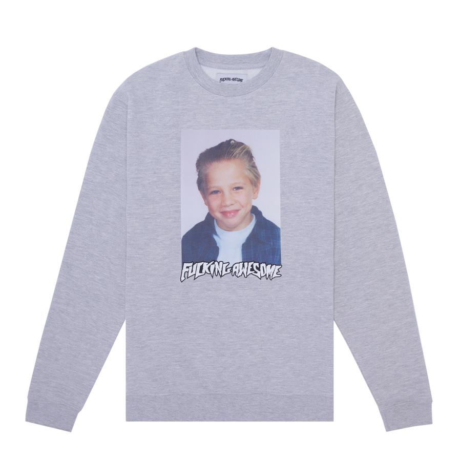 FA - Vincent Class Photo French Terry Crewneck Heather Grey