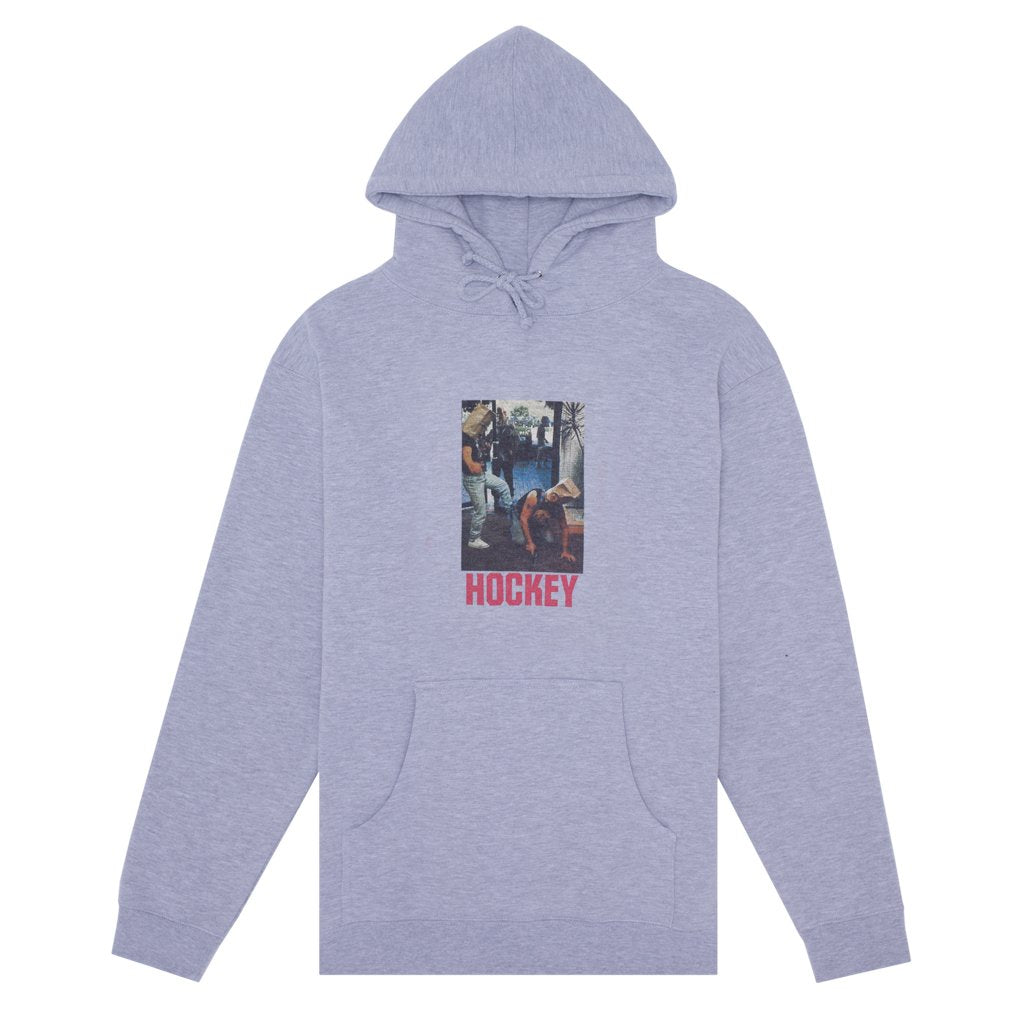 Hockey - Baghead 2 Hoodie Grey, Crewnecks & Hoodies, Hockey, My Favorite Things