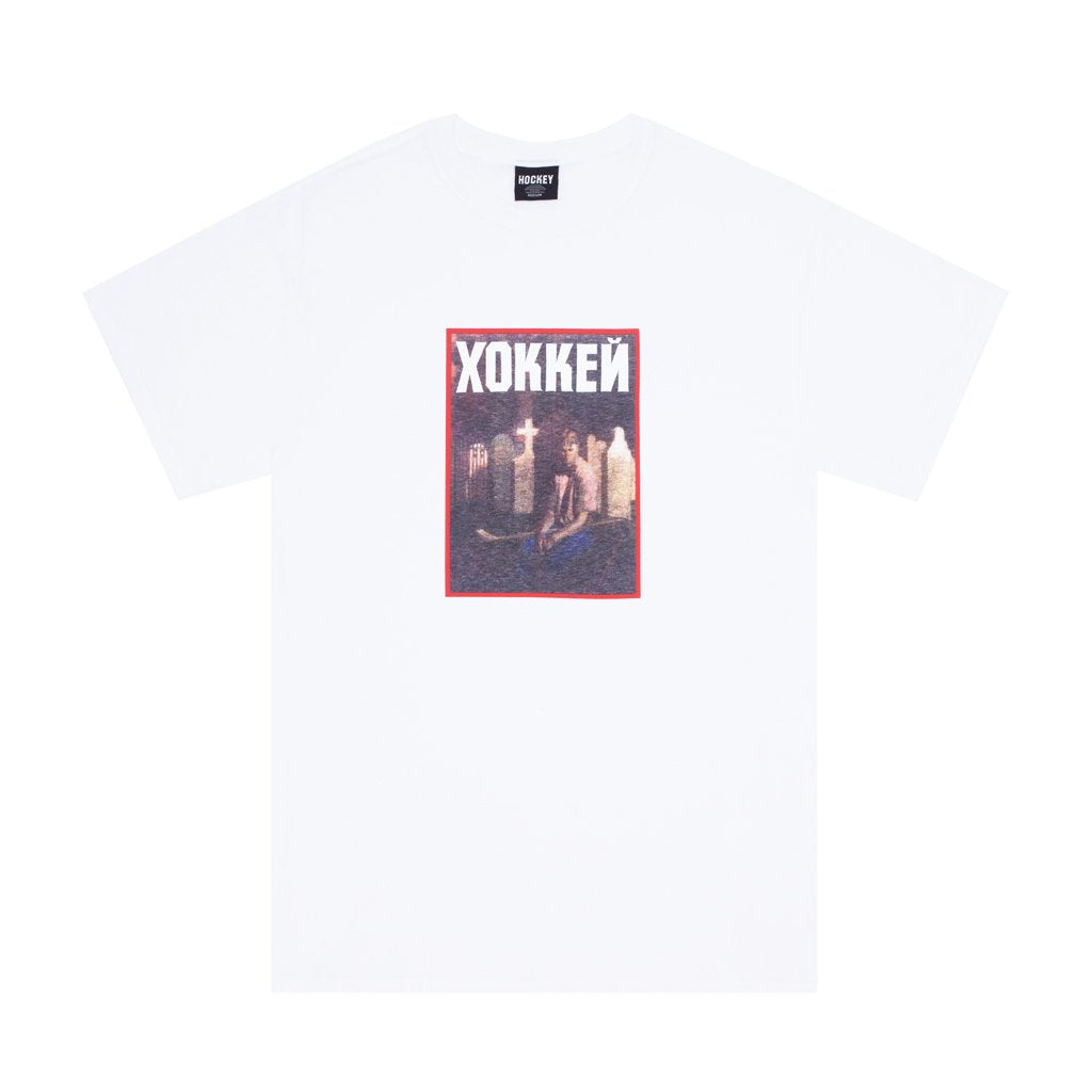 Hockey - Nik Stain Tee White