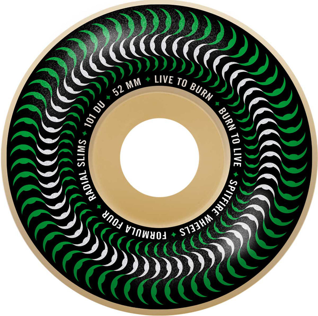 Spitfire Formula Four 101D Venomous Radial Slims 54mm, Wheels, Spitfire Wheels, My Favorite Things