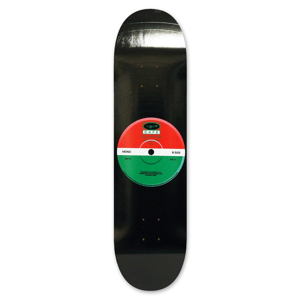 "Skateboard Cafe - ""45"" Red / Green 8.125"""
