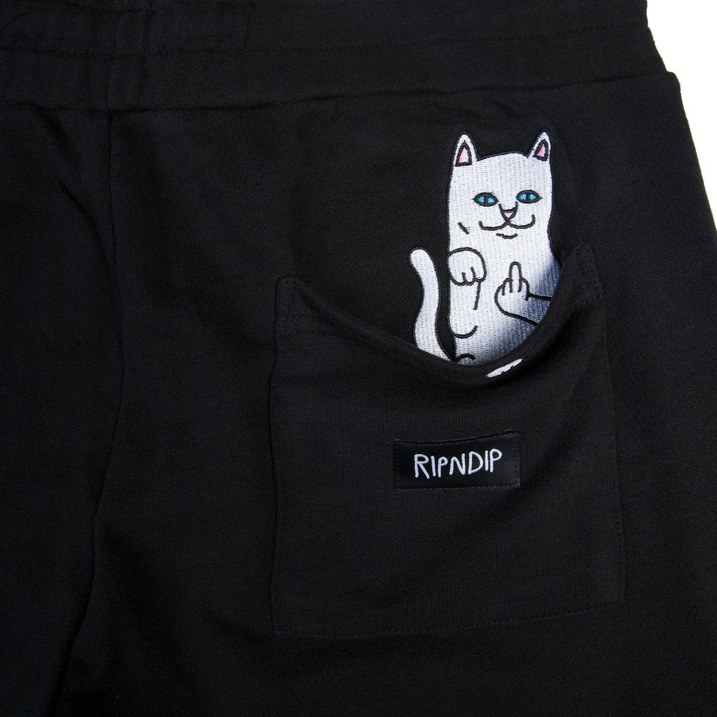 Rip N Dip Peeking Nerm Sweat Shorts Black, Shorts, Rip N Dip, My Favorite Things