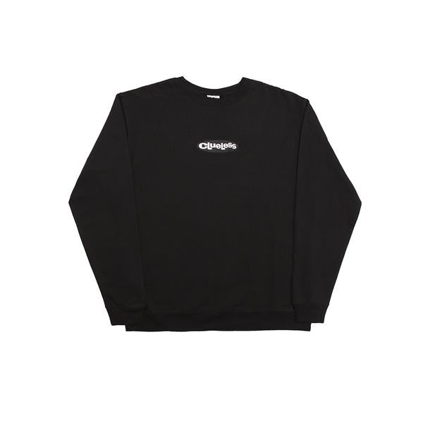 Alltimers - Embroidered Clueless Crew Black