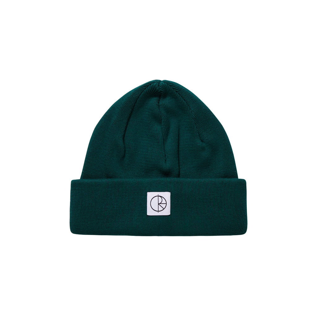 Polar Double Fold Cotton Beanie Dark Green, Beanies, Polar Skate Co., My Favorite Things