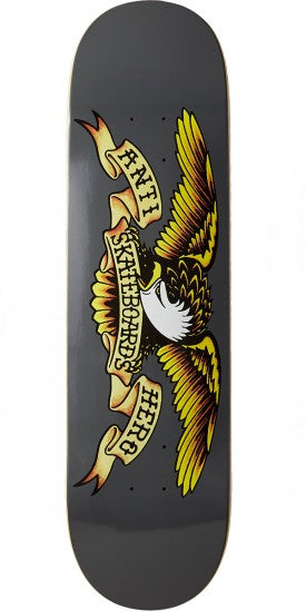 "Antihero Classic Eagle 8.25"" (Grey), Decks, Antihero Skateboards, My Favorite Things"