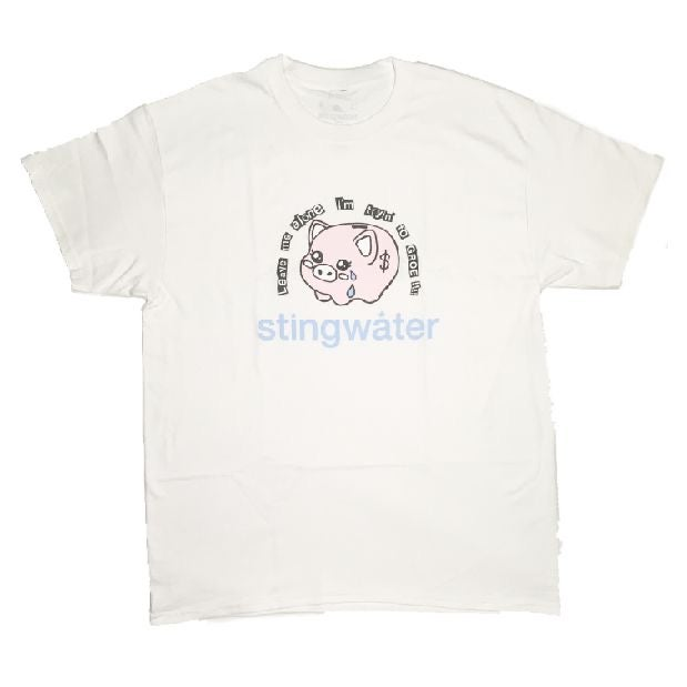 Stingwater - Leave Me Alone I'm Tryin to Groe!!! T-Shirt White