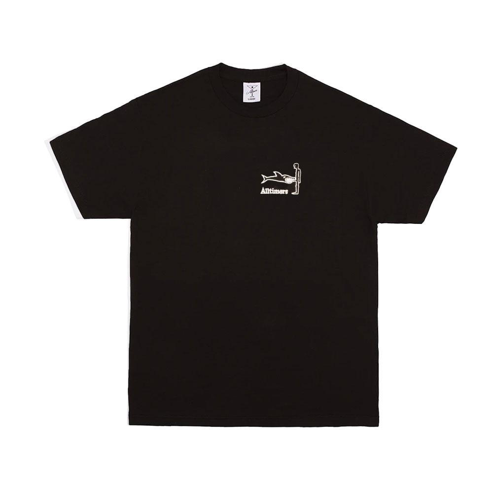 Alltimers - Shark Dick Tee Black, T-Shirts, Alltimers, My Favorite Things