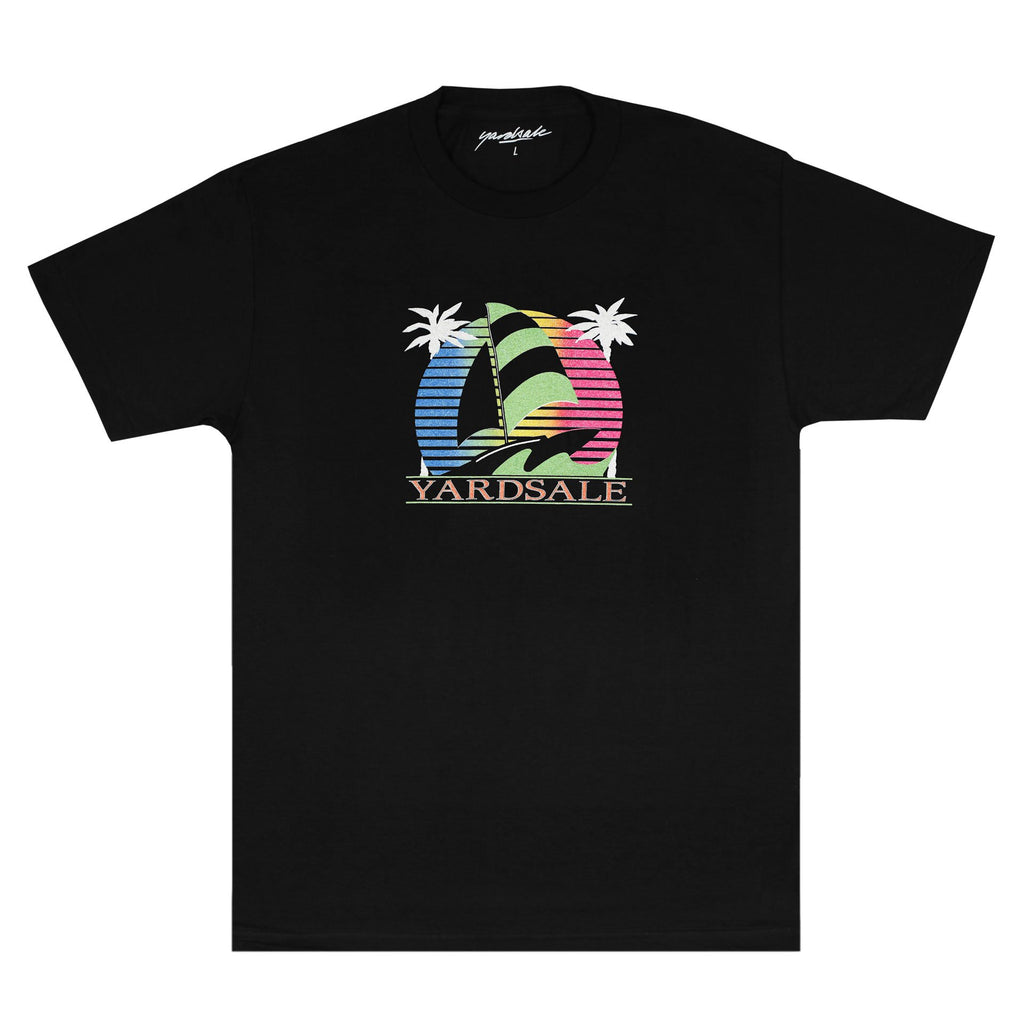 Yardsale Sail Boat T-Shirt Black, T-Shirts, Yardsale, My Favorite Things