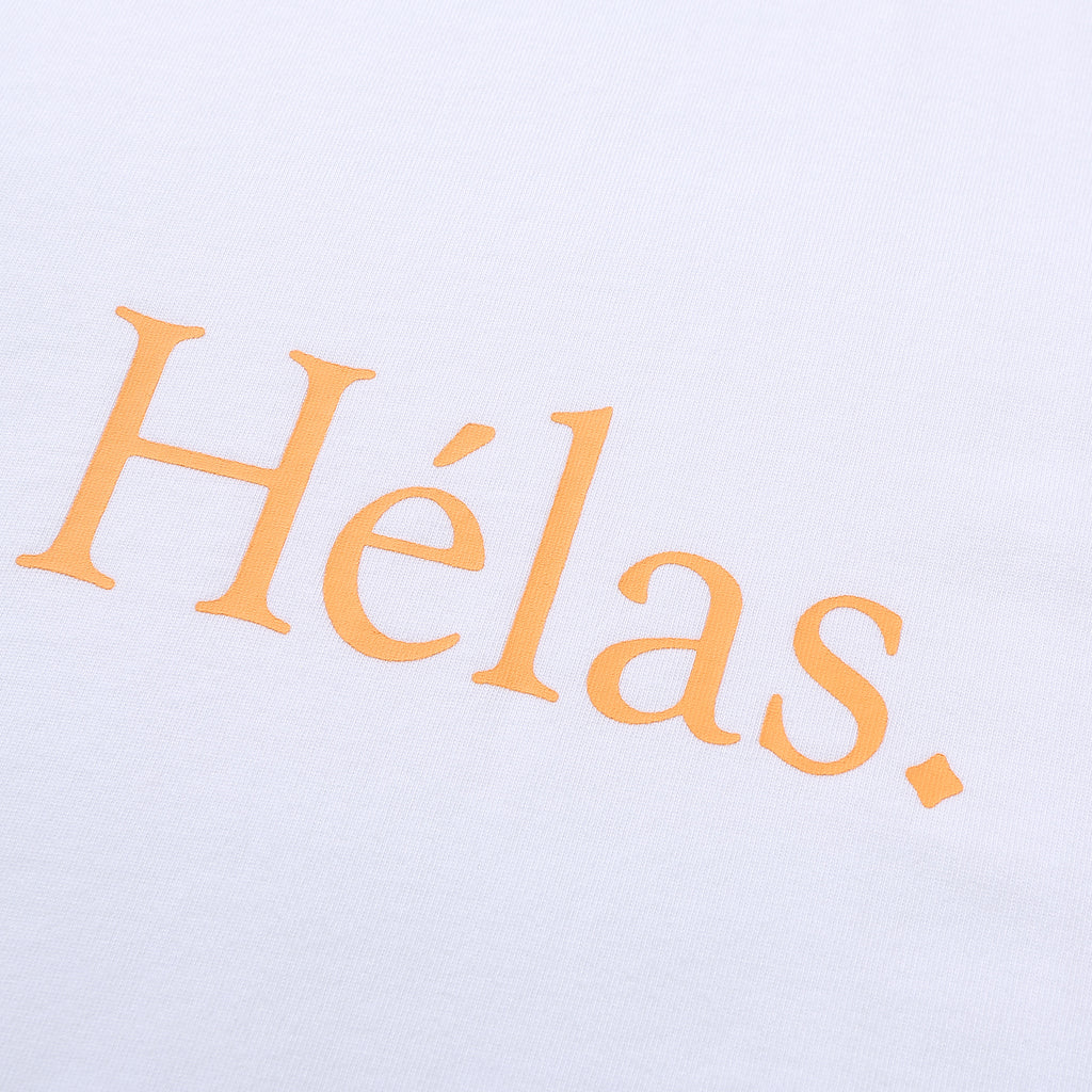 Helas - Class Tee White, T-Shirts, Hélas Caps, My Favorite Things