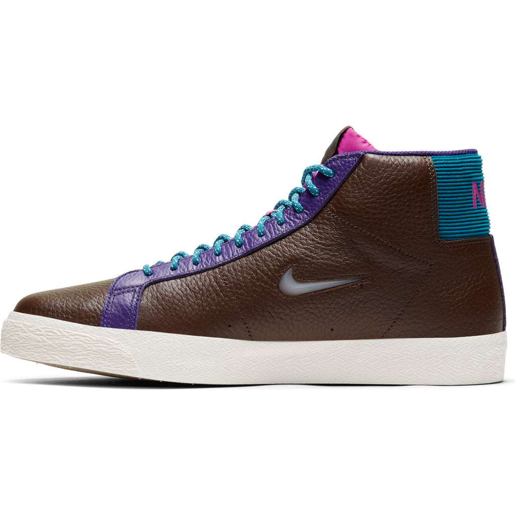 Nike SB - Zoom Blazer Mid Premium Baroque Brown/White