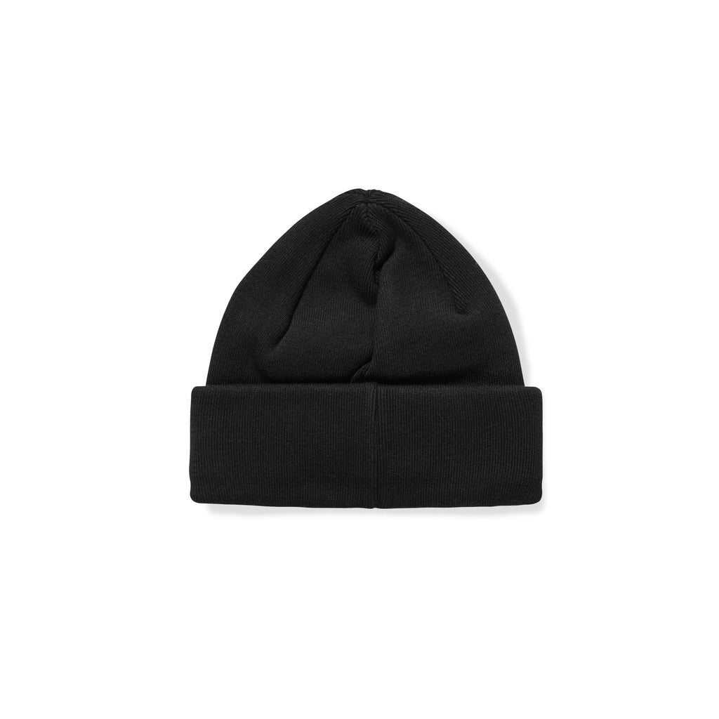 Polar - Double Fold Cotton Beanie Black