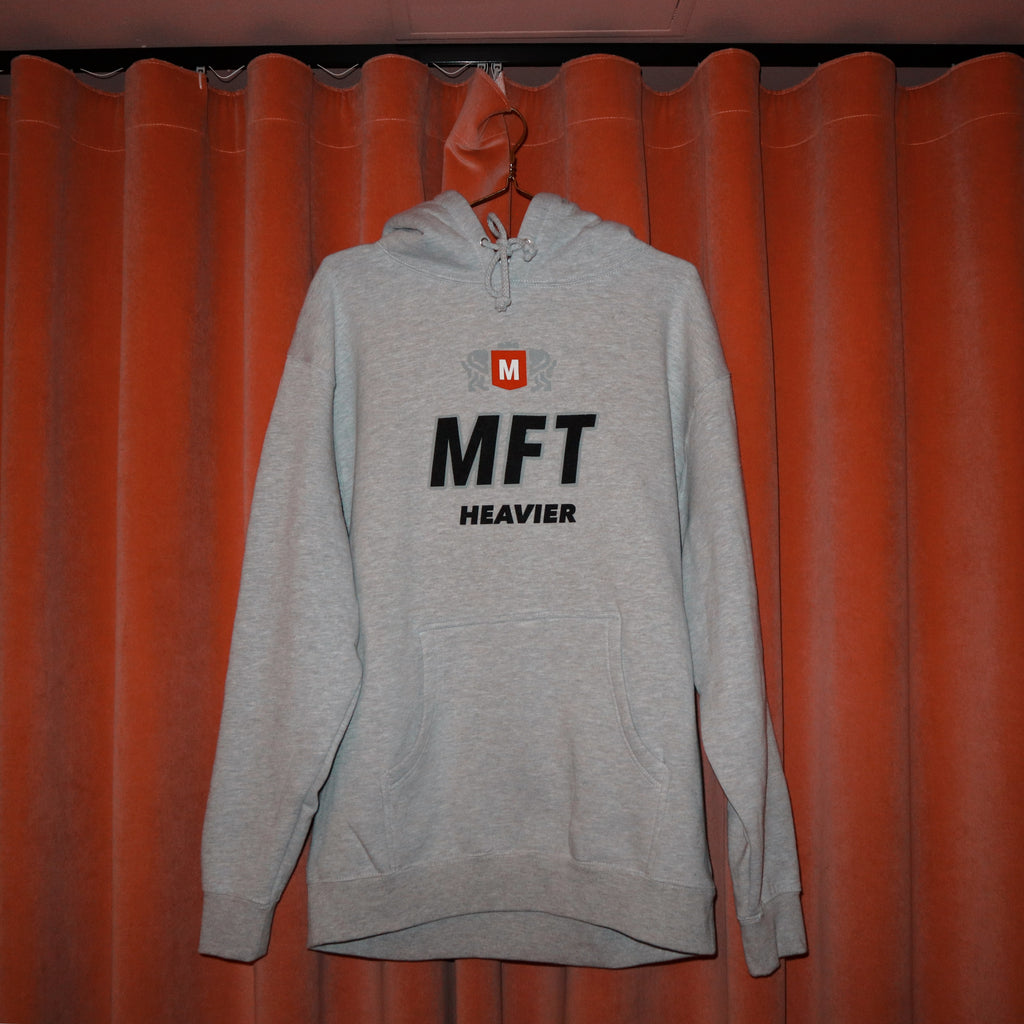 My Favorite Things - Heavier Pullover Hoodie Grey Melange, Crewnecks & Hoodies, My Favorite Things, My Favorite Things