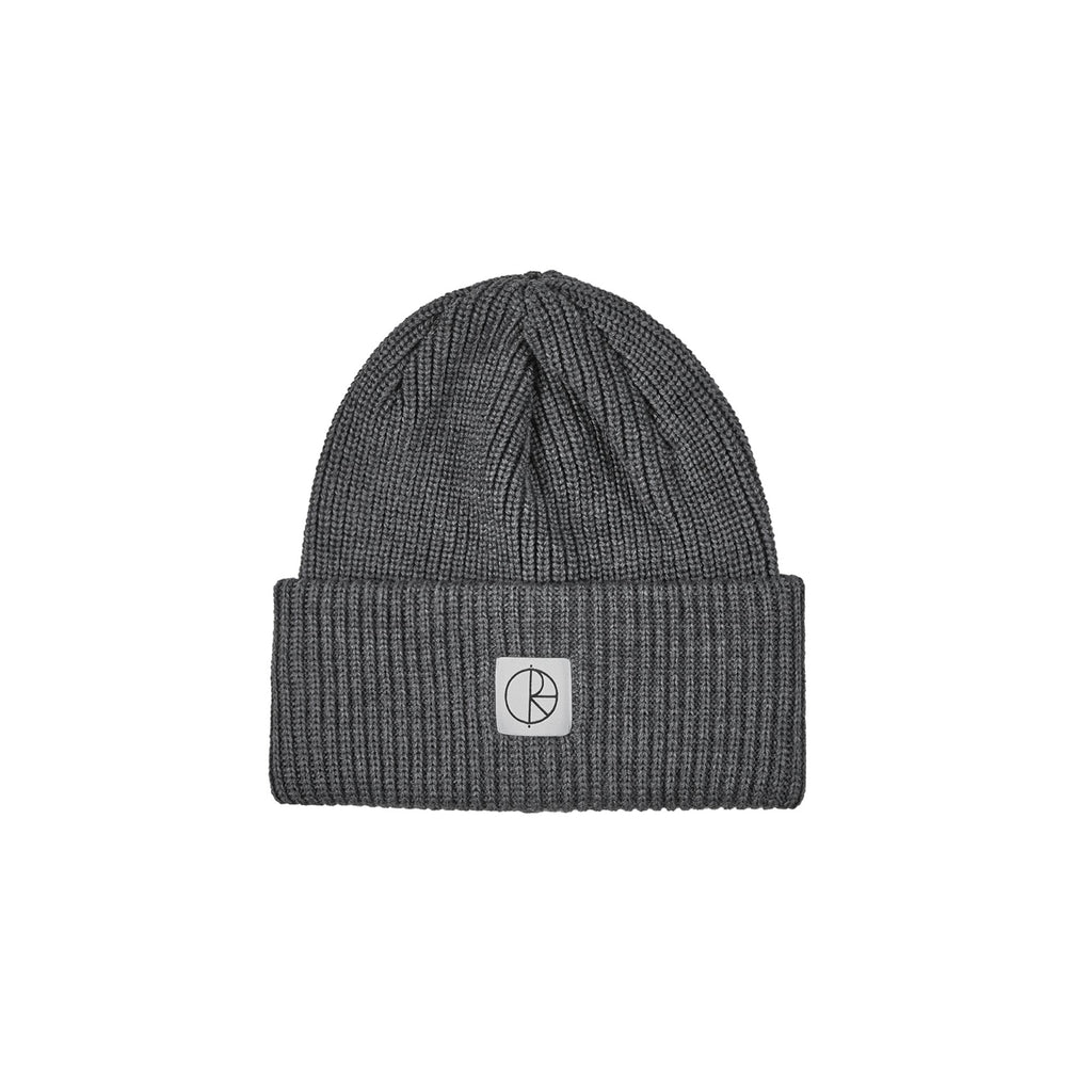 Polar Double Fold Merino Beanie Heather Grey, Beanies, Polar Skate Co., My Favorite Things