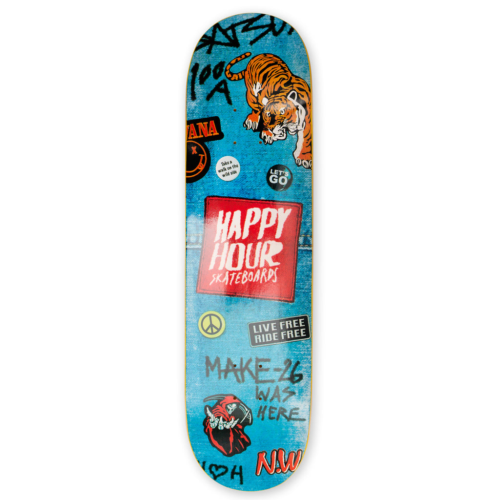 Happy Hour Skateboards - Farkkukuolema 7.375""