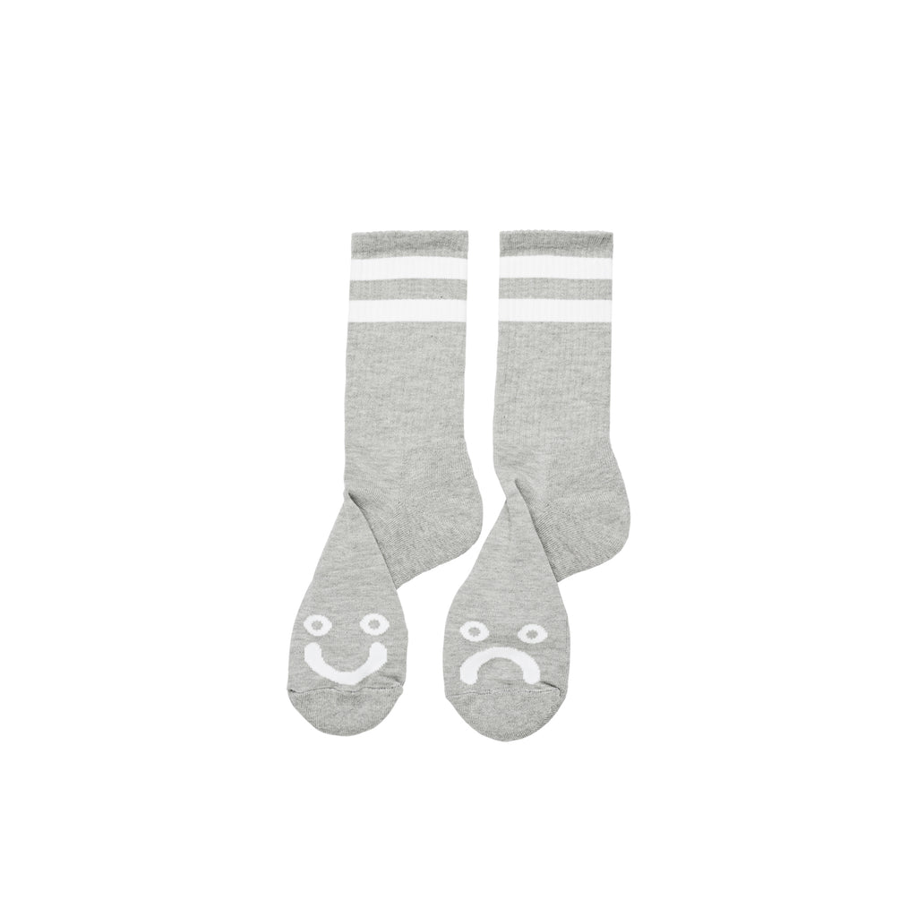 Polar - Happy Sad Socks Heather Grey