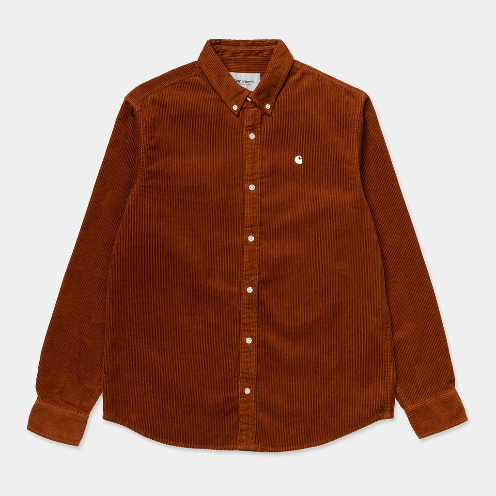 Carhartt - L/S Madison Cord Shirt Brandy / Wax