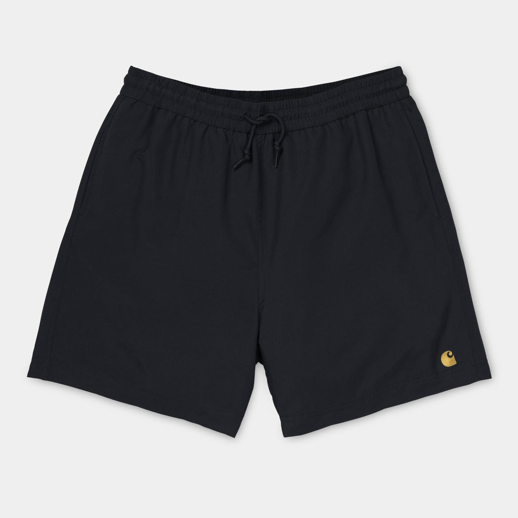 Carhartt Chase Swim Trunk Black, Shorts, Carhartt WIP, My Favorite Things
