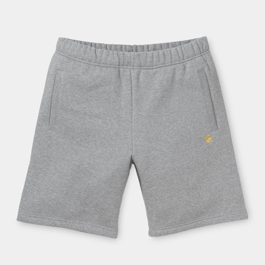 Carhartt Chase Sweat Short Grey Heather, Shorts, Carhartt WIP, My Favorite Things