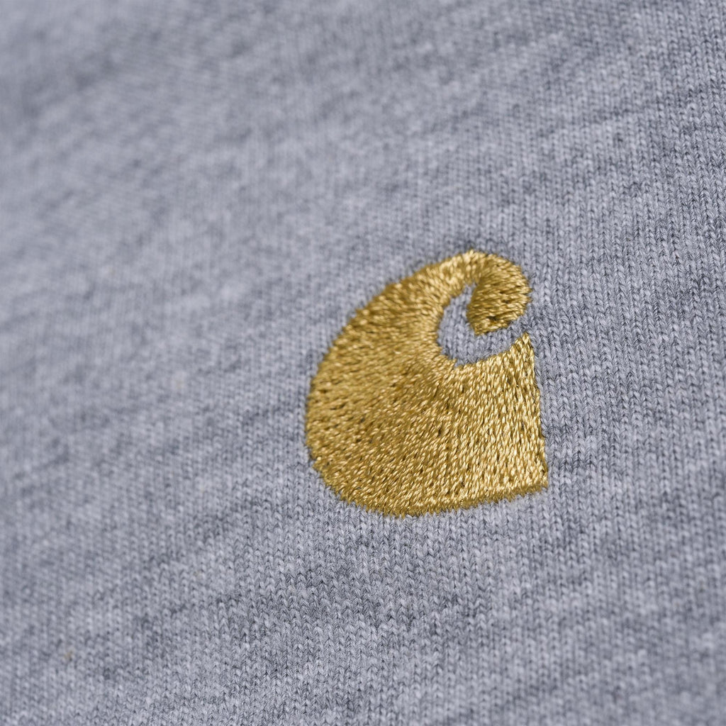 Carhartt L/S Chase T-Shirt Grey Heather, T-Shirts, Carhartt WIP, My Favorite Things
