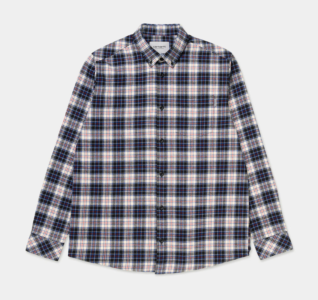 Carhartt - L/S Huffman Check Shirt Flour, Shirts & Flannels, Carhartt WIP, My Favorite Things