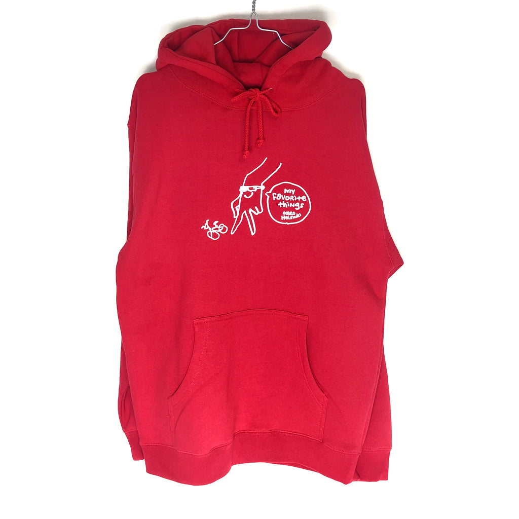 My Favorite Things - Gonz Hoodie Red