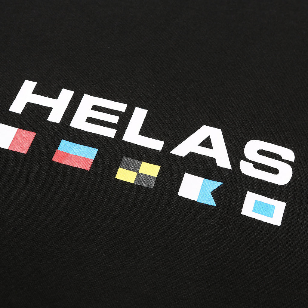 Helas - Nautique Tee Black, T-Shirts, Hélas Caps, My Favorite Things