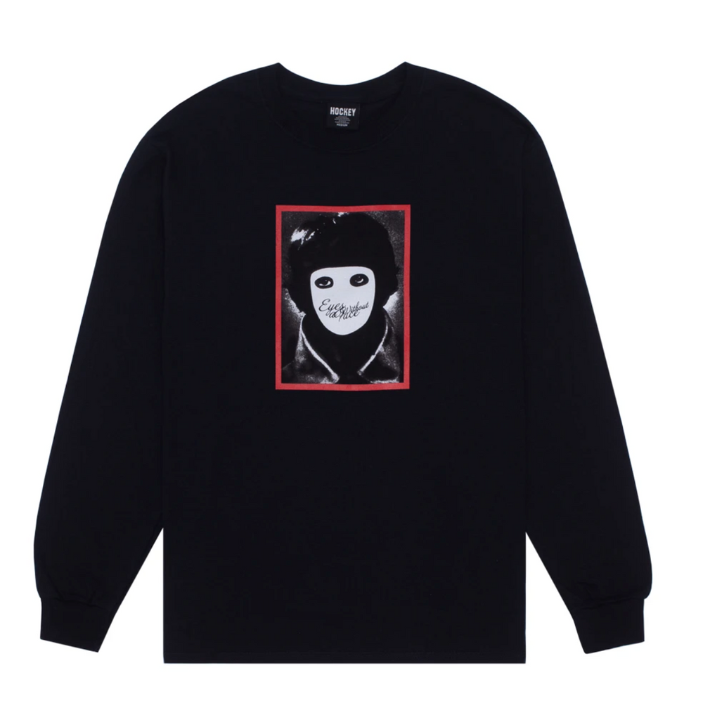 Hockey - No Face L/S Tee Black