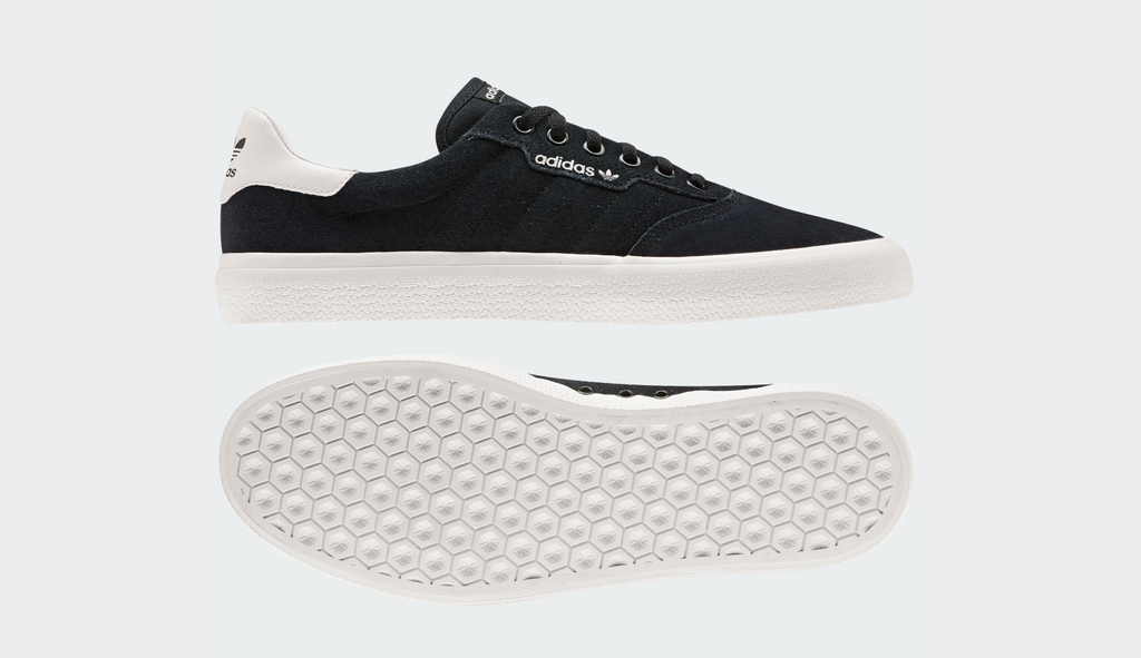 Adidas Skateboarding 3MC Vulc Core Black / Core Black / Cloud White, Shoes, Adidas Skateboarding, My Favorite Things