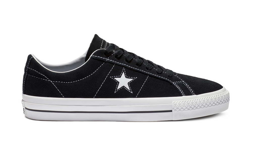Converse Cons One Star OX Black/White - My Favorite Things