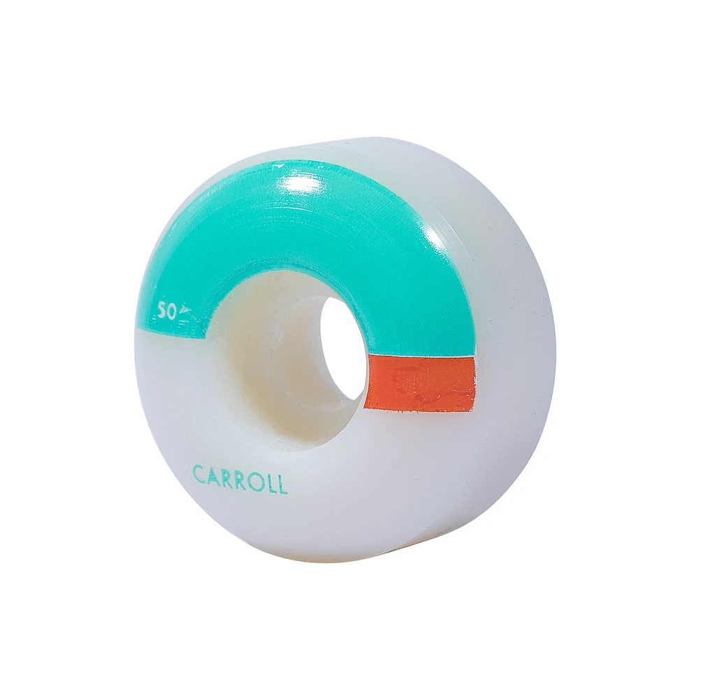 Wayward Solid State Wheel - Mike Carroll - 50 mm Teal 101a