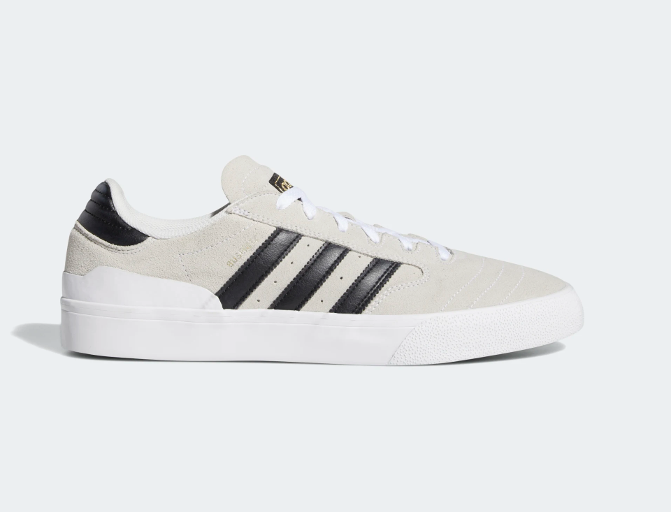 Adidas Busenitz Vulc ll Core White / Black / Gum, Shoes, Adidas Skateboarding, My Favorite Things