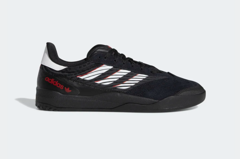 Adidas Copa Nationale Core Black / Cloud White / Scarlet, Shoes, Adidas Skateboarding, My Favorite Things