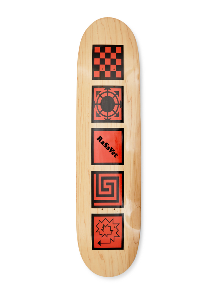 Rassvet - Skateboard Red 8.6""