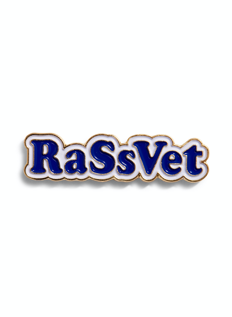 Rassvet - Metal Pins Navy/Gold