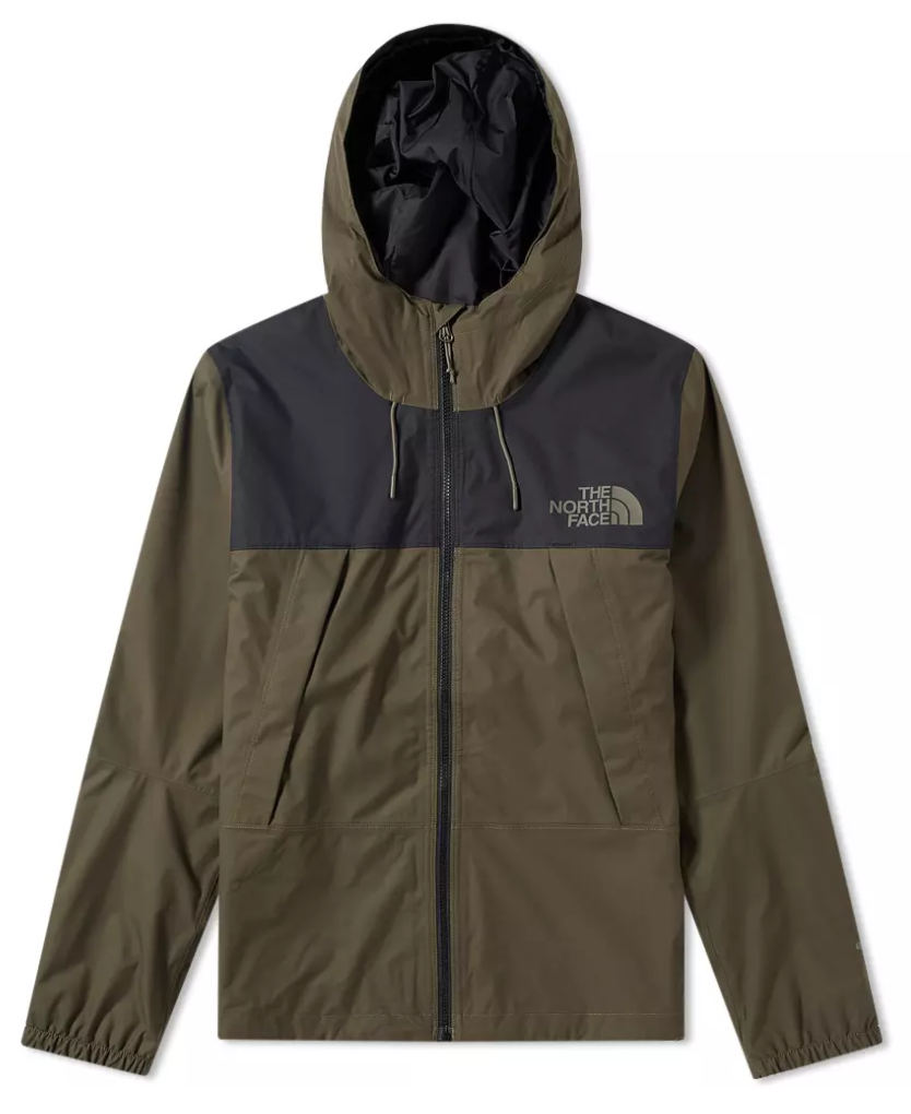 The North Face 1990 Mountain Q Jacket TNF Black & New Taupe Green, Jackets, The North Face, My Favorite Things