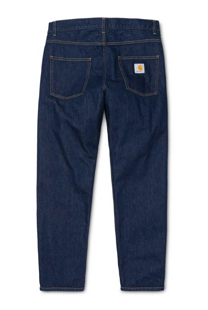 Carhartt Newel Pant Cotton Blue (Rinsed) - My Favorite Things