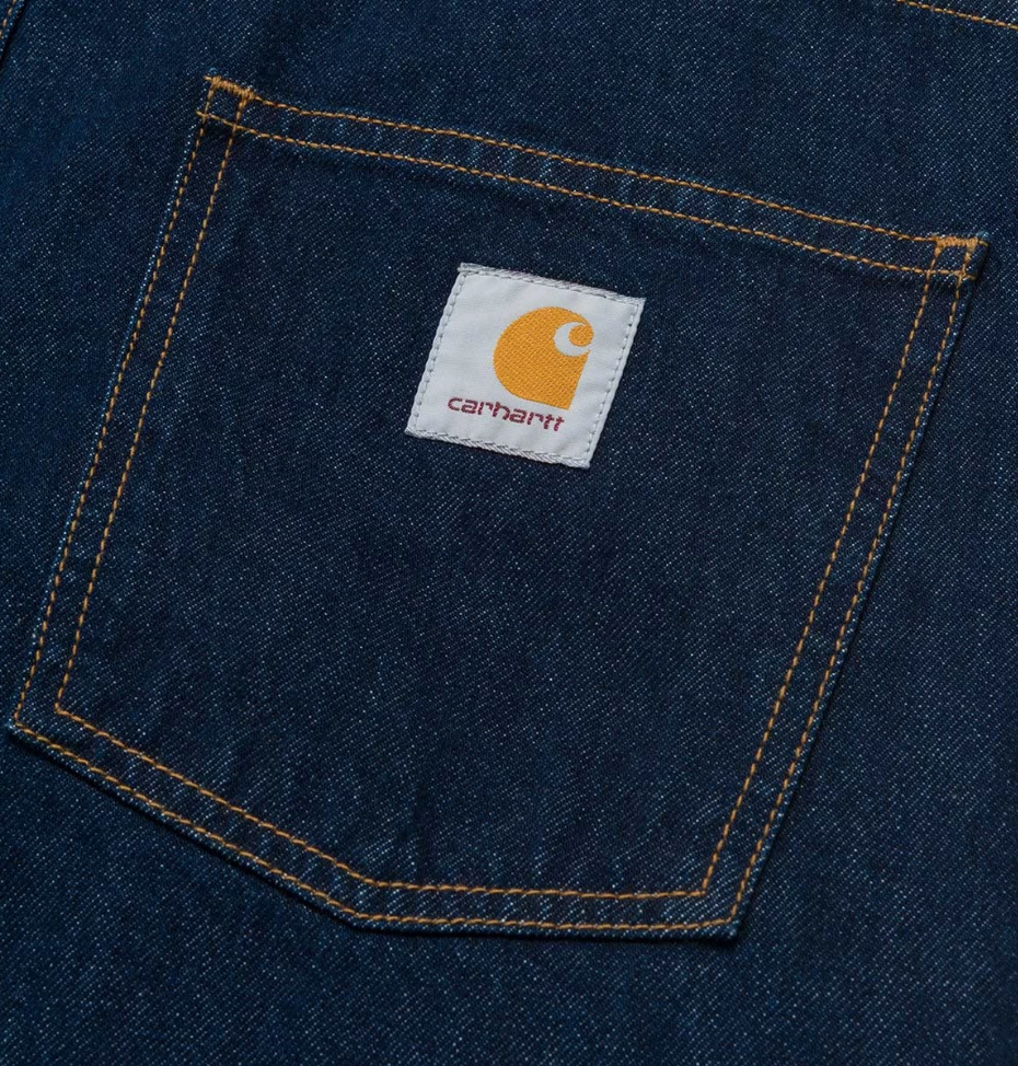 Carhartt Newel Pant Cotton Blue (Rinsed), Pants, Carhartt WIP, My Favorite Things
