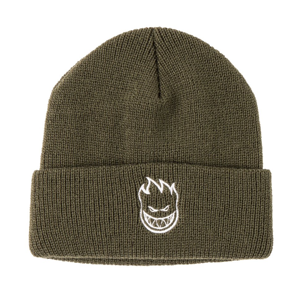 Spitfire Bighead Cuff Beanie Olive, Beanies, Spitfire Wheels, My Favorite Things