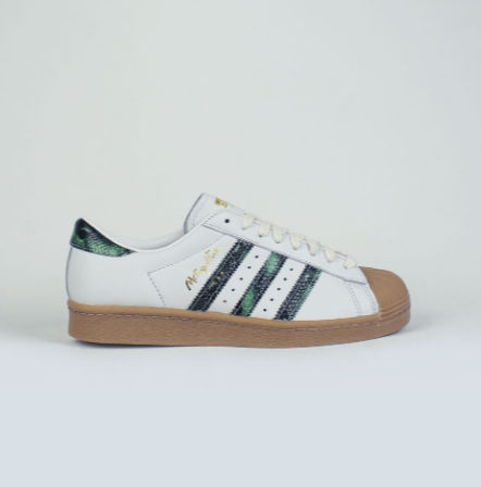 Adidas Skateboarding Superstar 80s X Metropolitan CRYWHT/CGREEN/GUM4, Shoes, Adidas Skateboarding, My Favorite Things