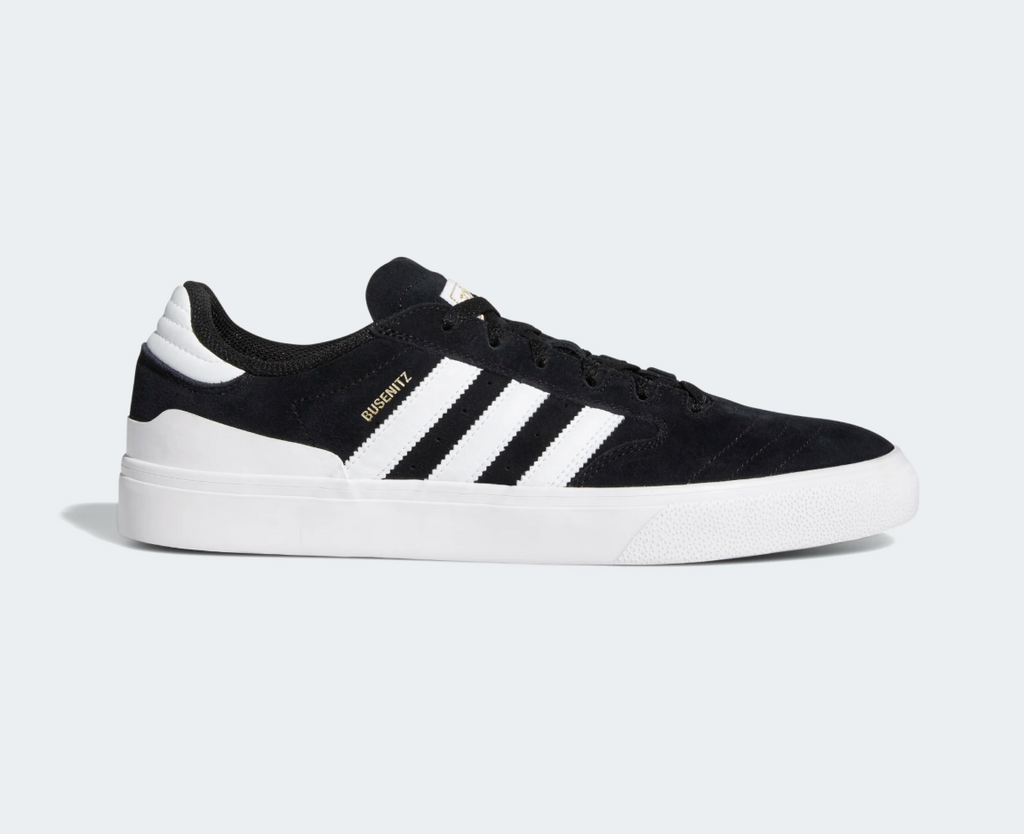 Adidas Busenitz Vulc ll Core Black/ White, Shoes, Adidas Skateboarding, My Favorite Things